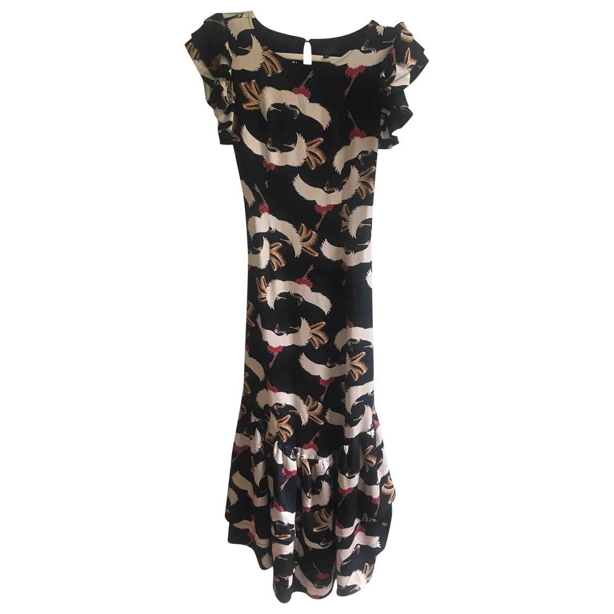 De La Vali \N Multicolour Silk dress for Women 8 UK
