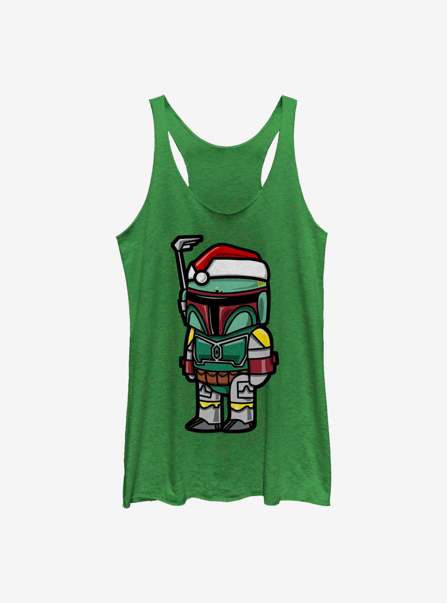 Star Wars Darth Santa Womens Tank Top