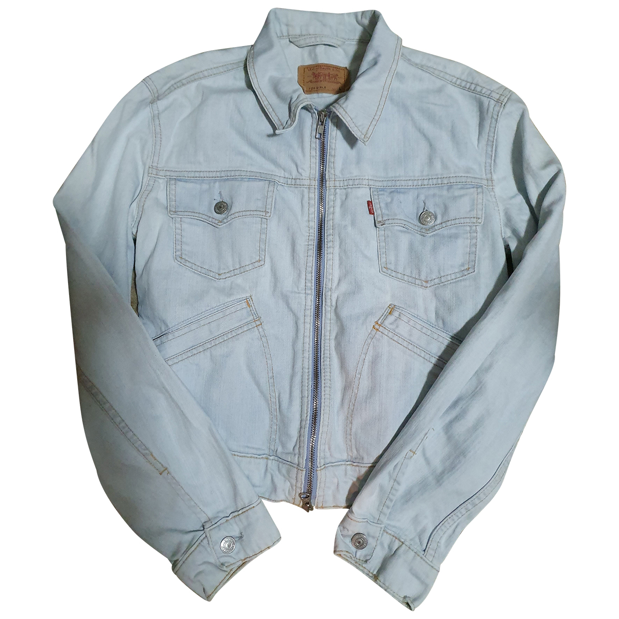 Levis Vintage Clothing - Veste   pour femme en denim - bleu