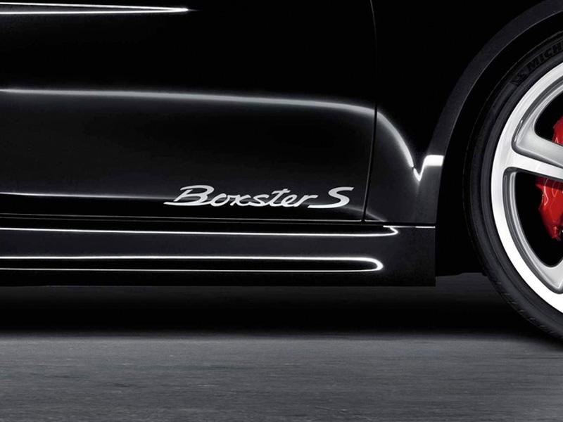 Porsche Tequipment Model Designation On Doors Silver