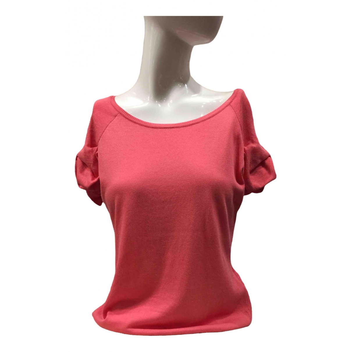 Red Valentino Garavani \N Pink Cotton  top for Women XL International