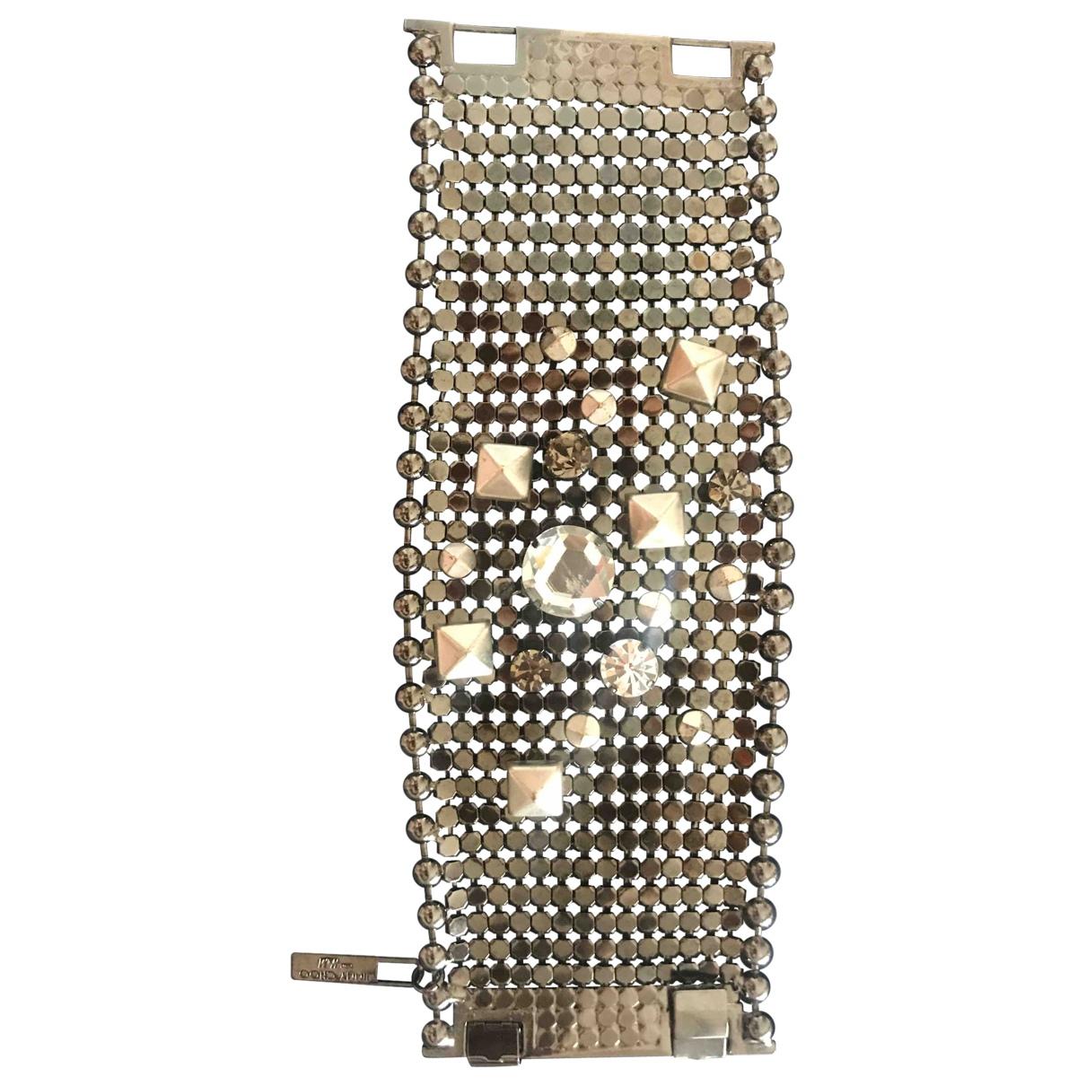 Jimmy Choo For H&m - Bracelet   pour femme en platine - metallise