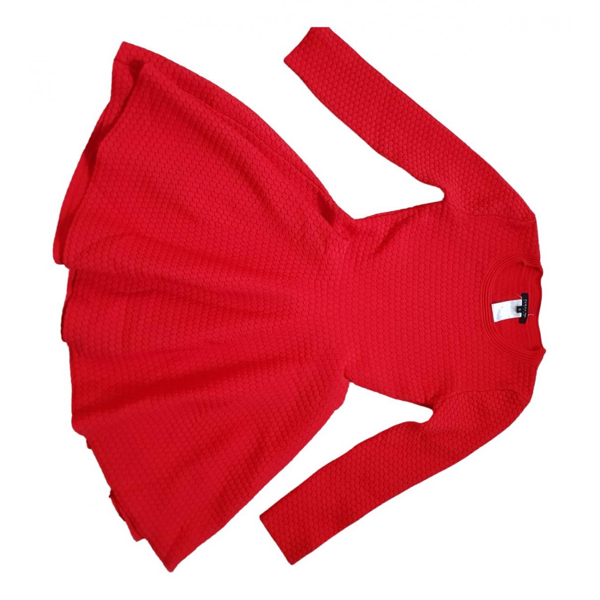Patrizia Pepe \N Red Wool dress for Women 34 FR