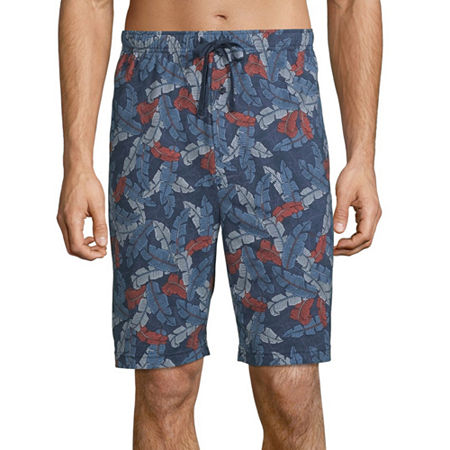 Stafford Pajama Shorts, 3x-large , Blue