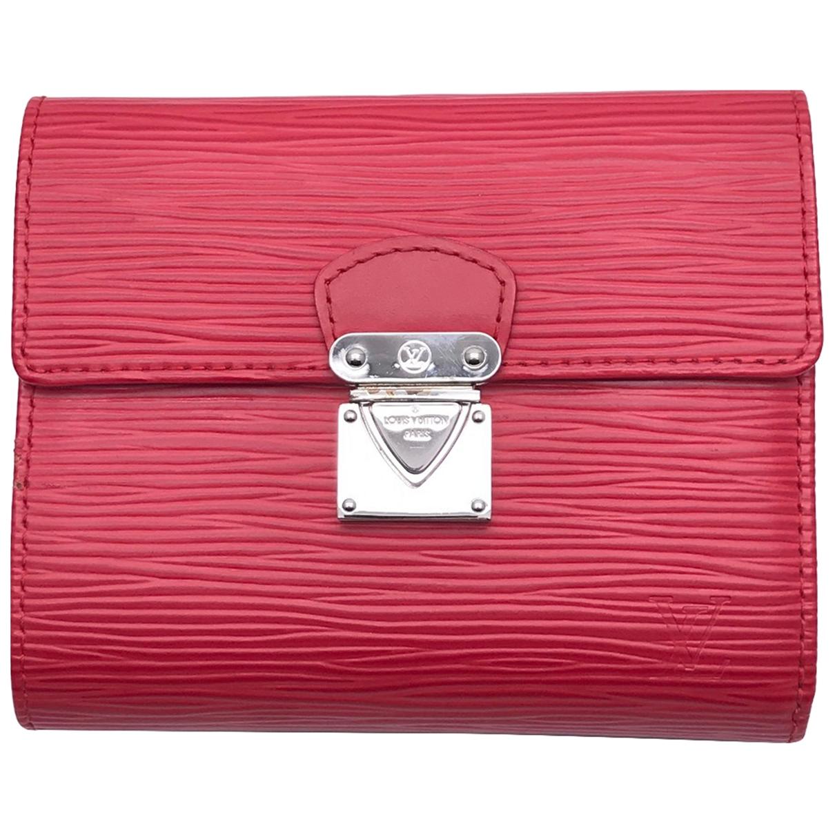 Louis Vuitton Koala Red Leather wallet for Women \N