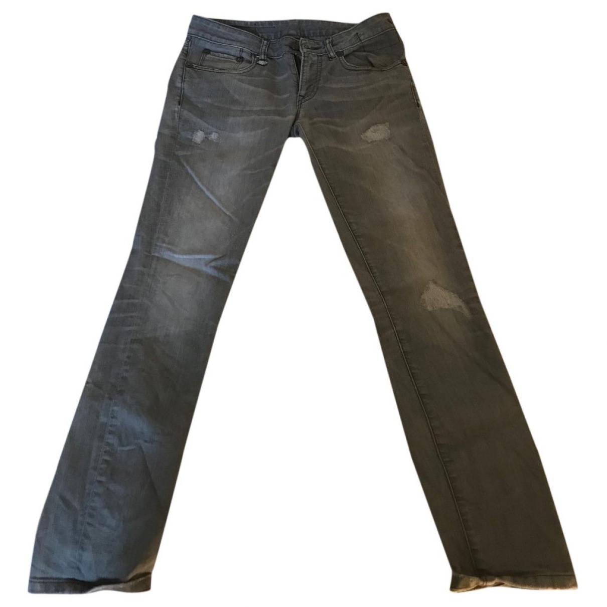 R13 \N Black Cotton - elasthane Jeans for Women 26 US