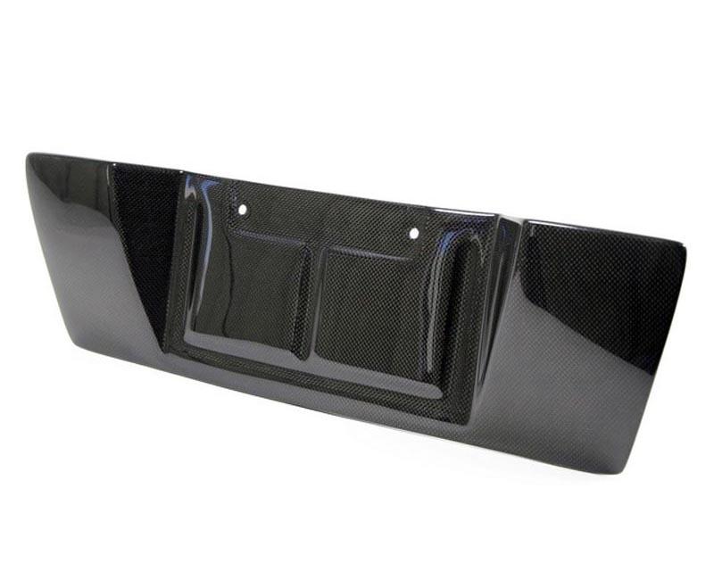 Carbign Craft CBX-RX8 Carbon Fiber License Plate Backing Mazda RX-8 03-11