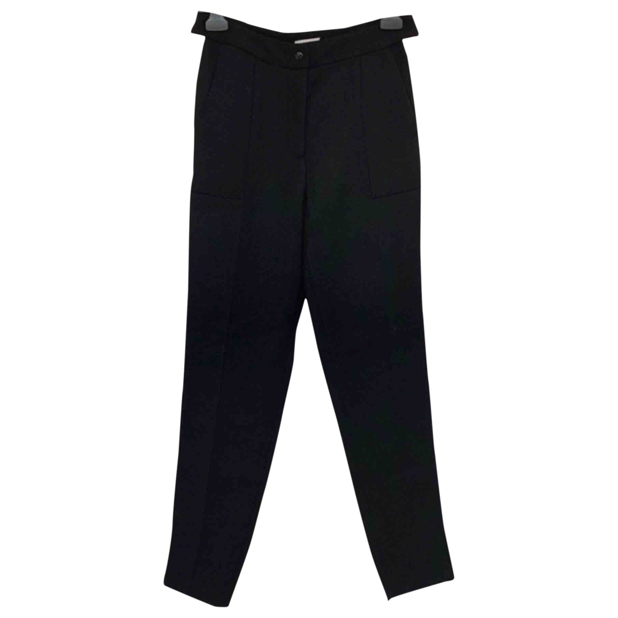 Claudie Pierlot \N Black Trousers for Women 34 FR