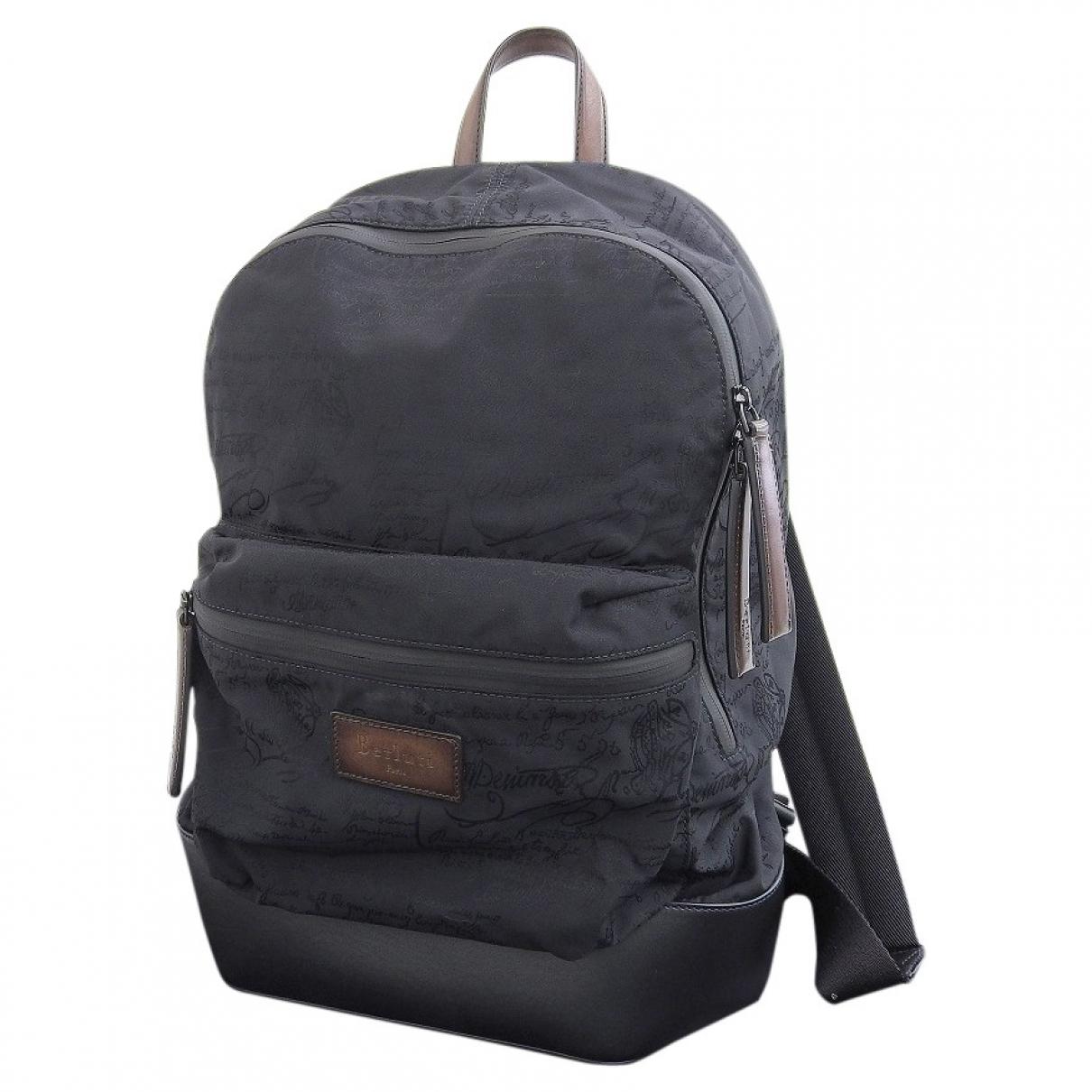 Berluti \N Black Cloth backpack for Women \N