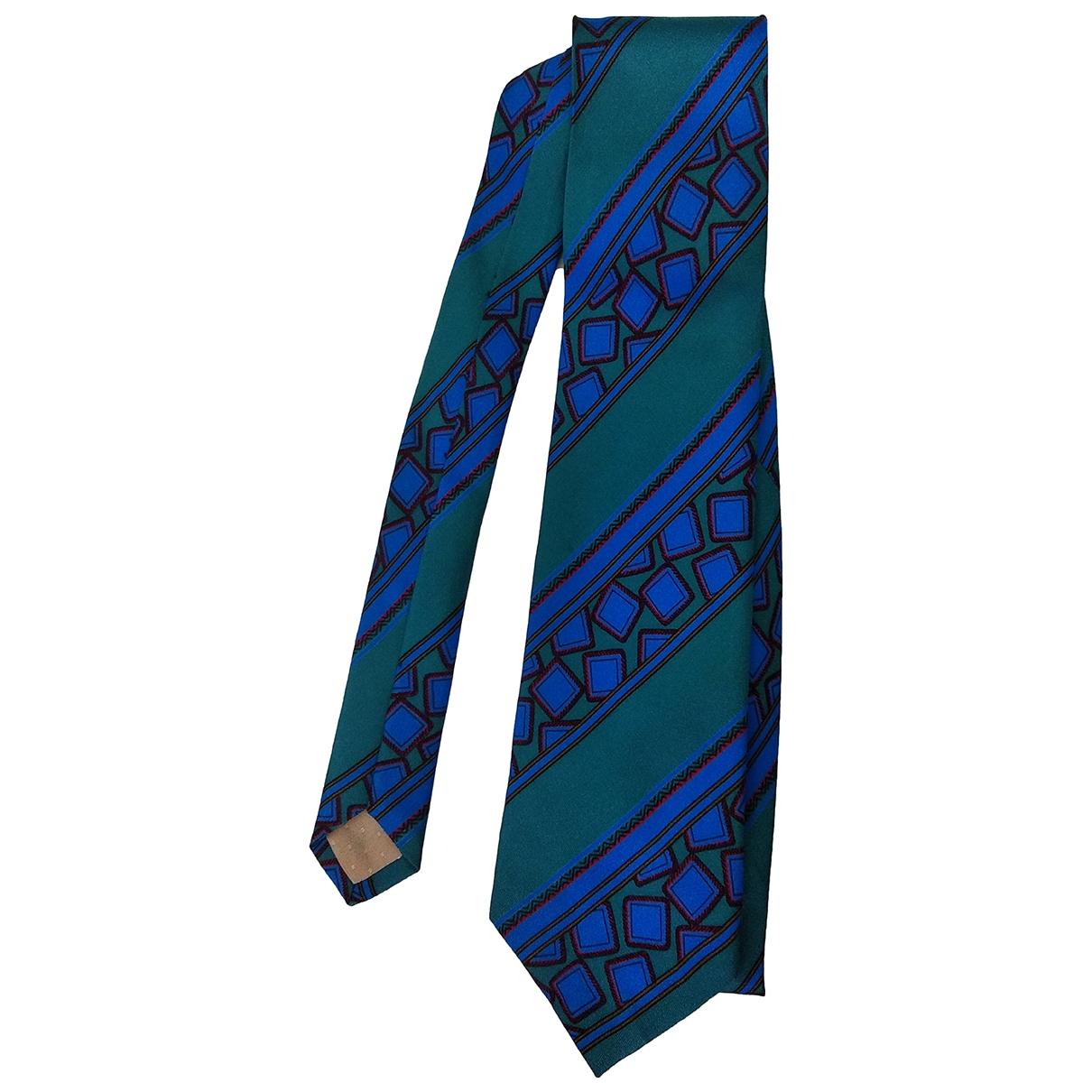 Pierre Cardin - Cravates   pour homme en soie - turquoise