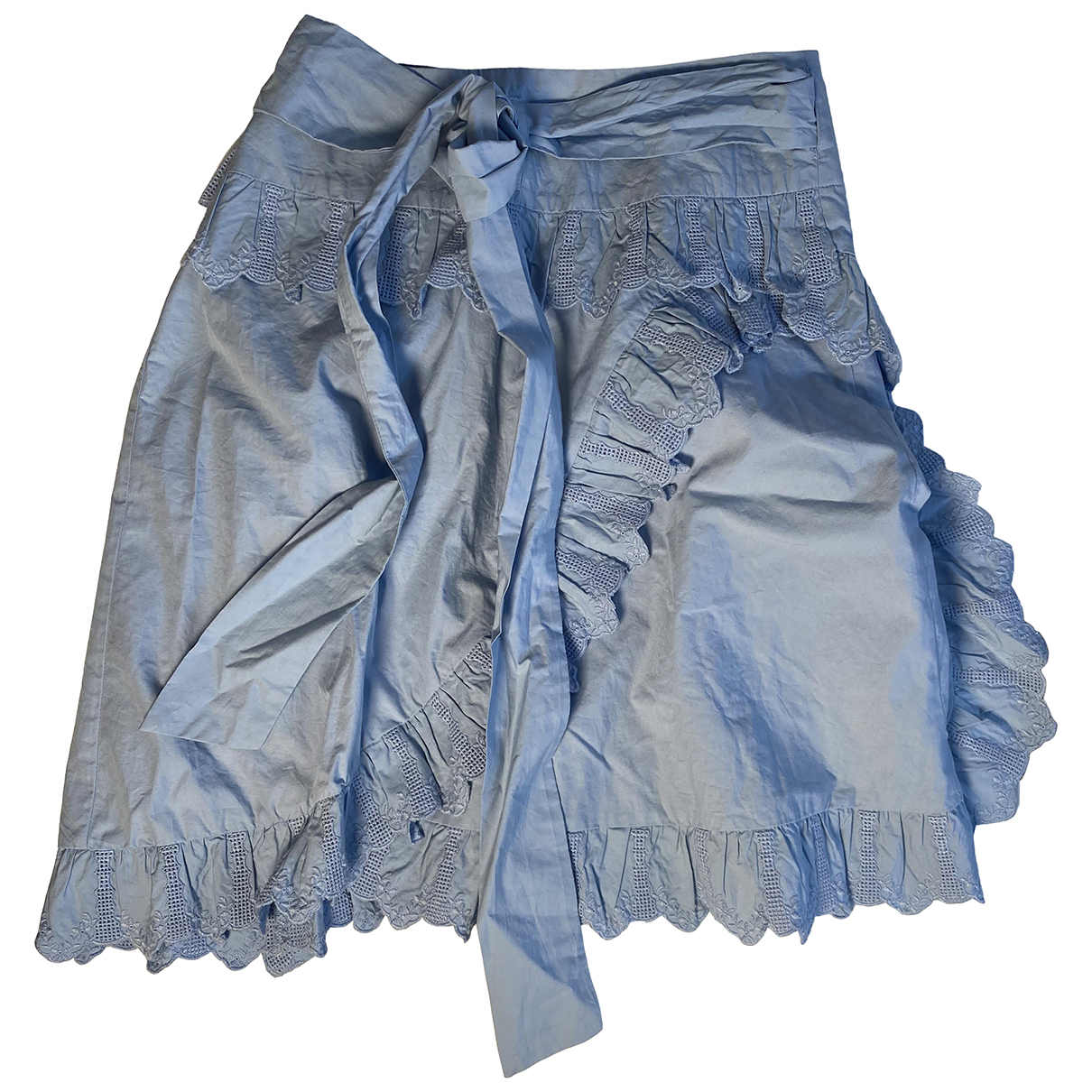 Isabel Marant Etoile N Blue Cotton skirt for Women 36 FR