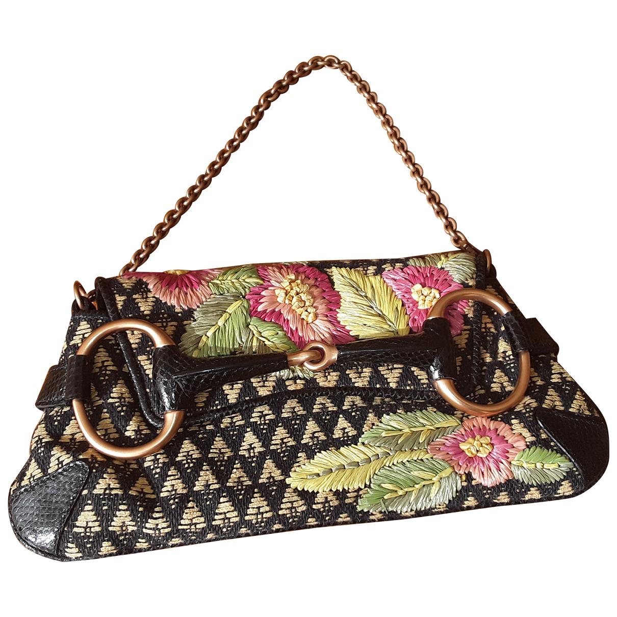Gucci N Multicolour Wool Clutch bag for Women N