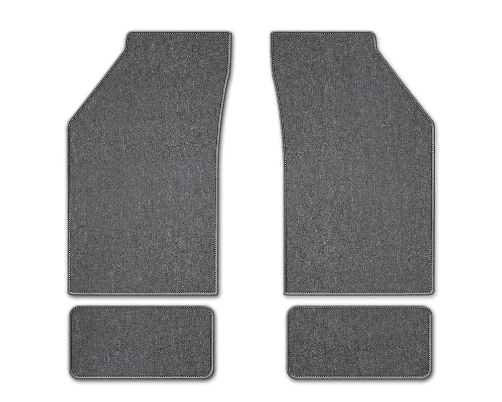 Coverking DFMBXB37SR7053B3 Premium Plush Designer Floor Mats Style B Gray Front Center Saturn Vue 2006-2007