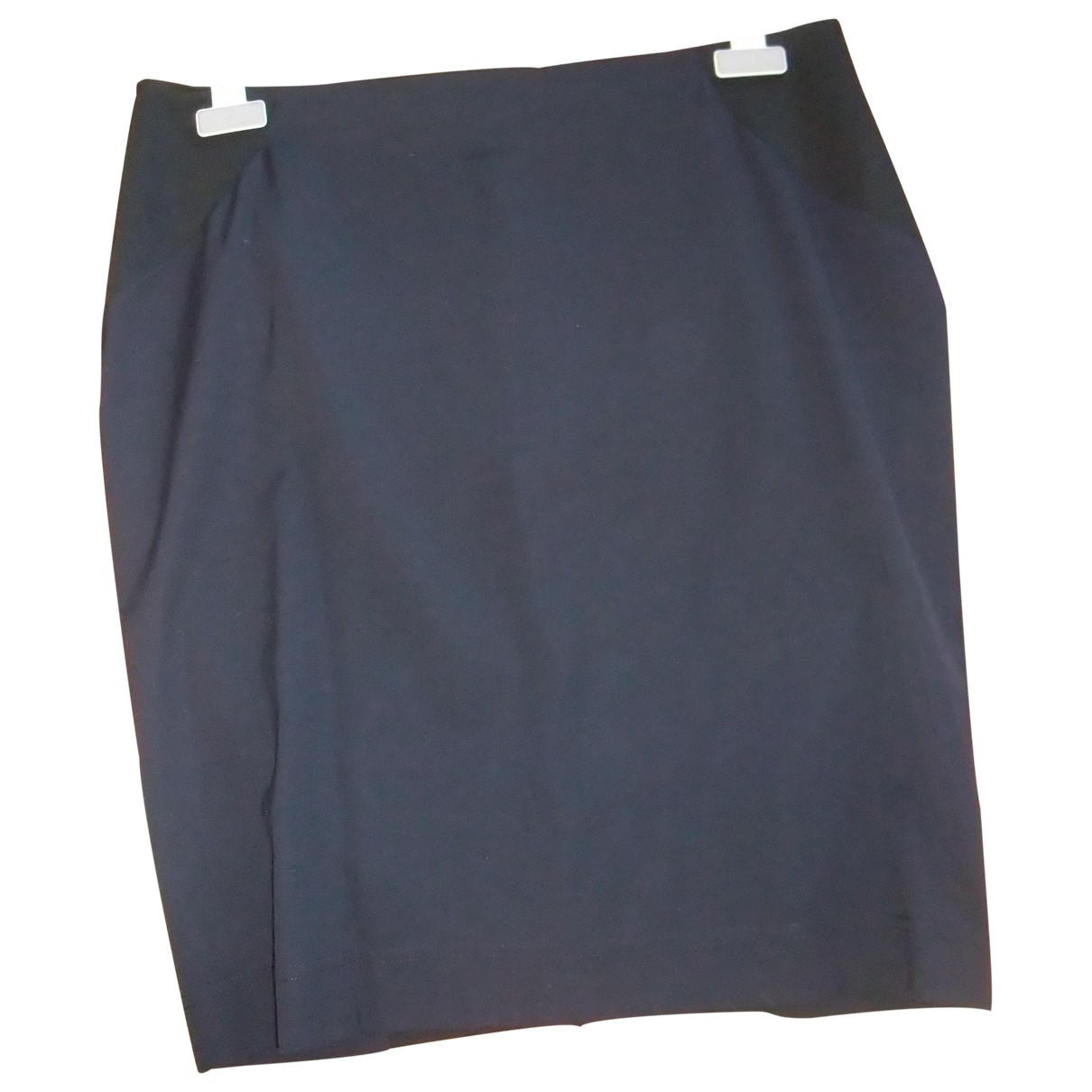 Paul Smith \N Black Cotton - elasthane skirt for Women 44 FR
