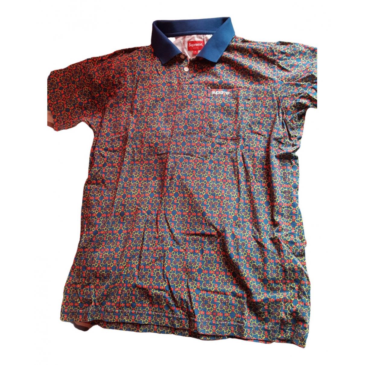Supreme \N Poloshirts in  Blau Baumwolle
