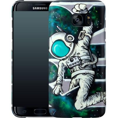 Samsung Galaxy S7 Edge Smartphone Huelle - Astronaut von SKIRL
