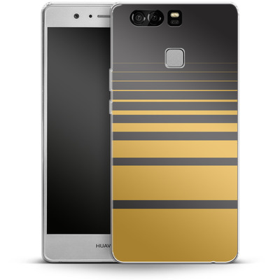 Huawei P9 Silikon Handyhuelle - Yellow Retro von SONY
