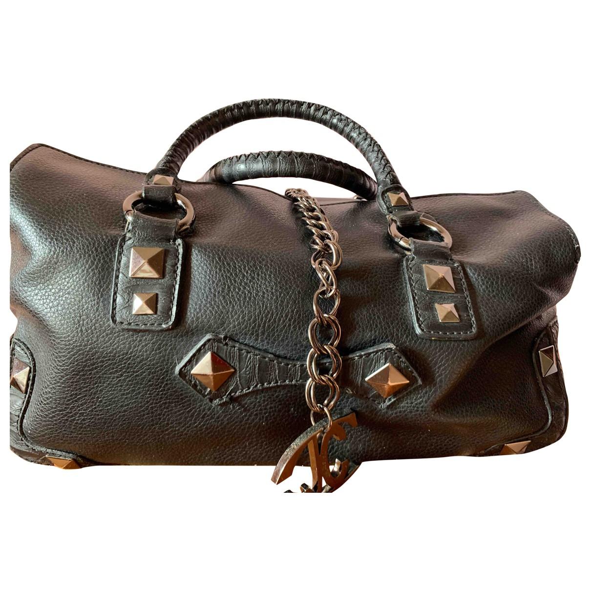 Just Cavalli \N Black Leather handbag for Women \N