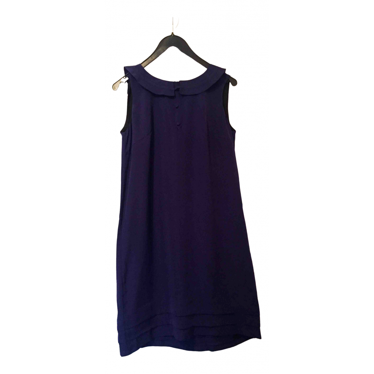 Non Signé / Unsigned \N Navy dress for Women 40 FR