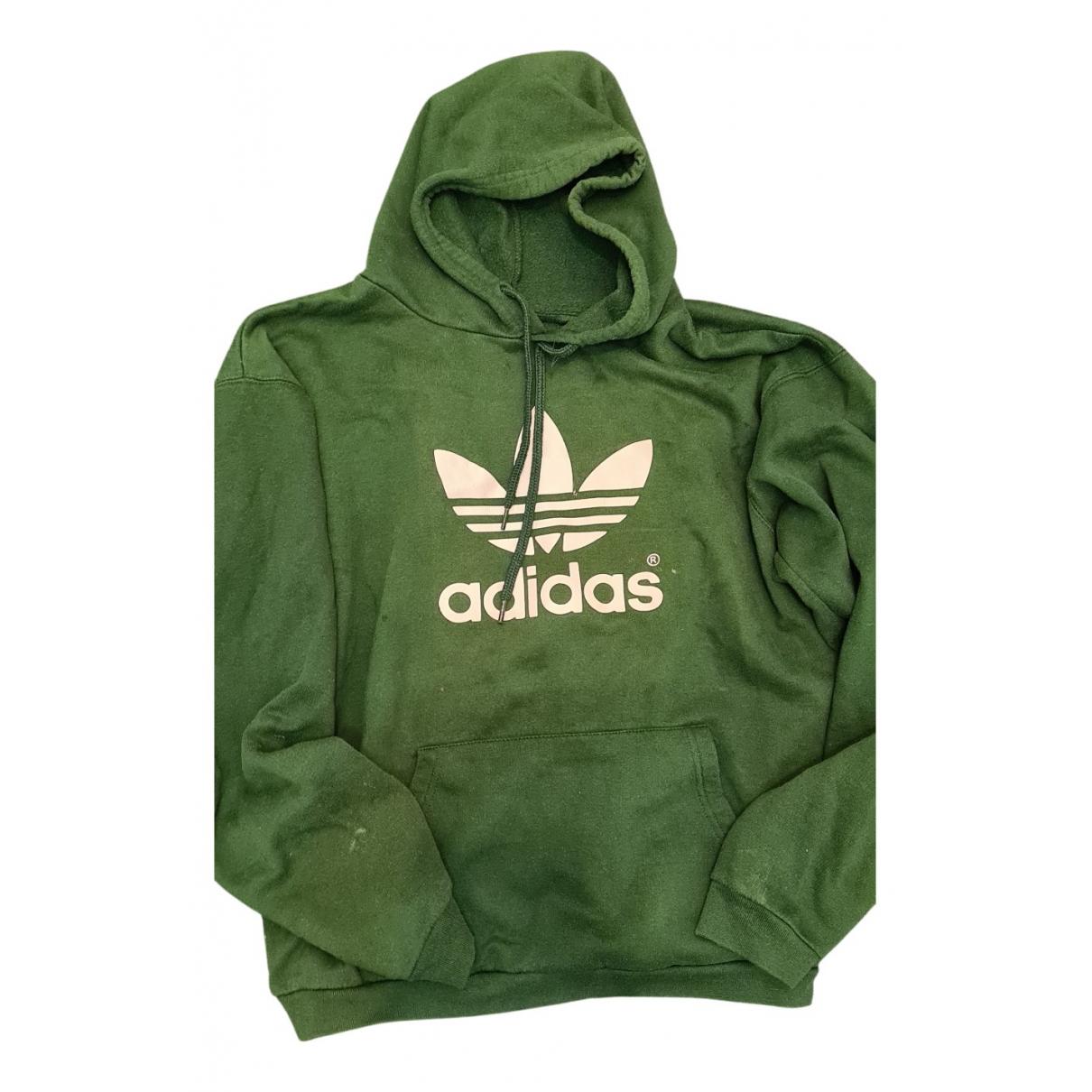 Adidas - Pulls.Gilets.Sweats   pour homme en coton - vert