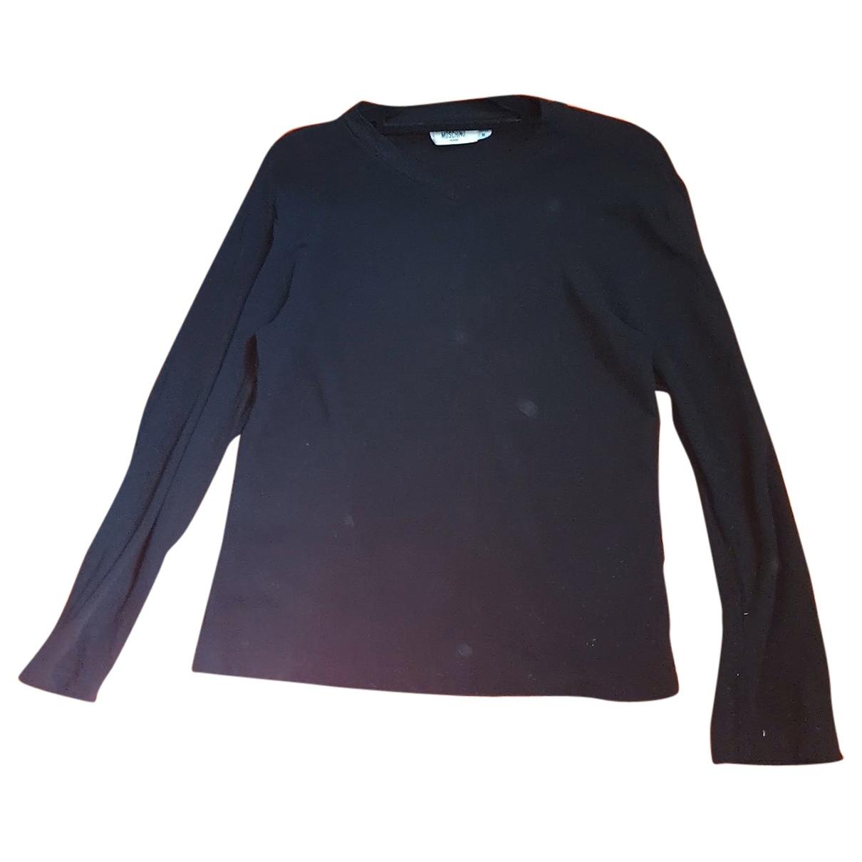 Moschino \N Pullover.Westen.Sweatshirts  in  Schwarz Viskose