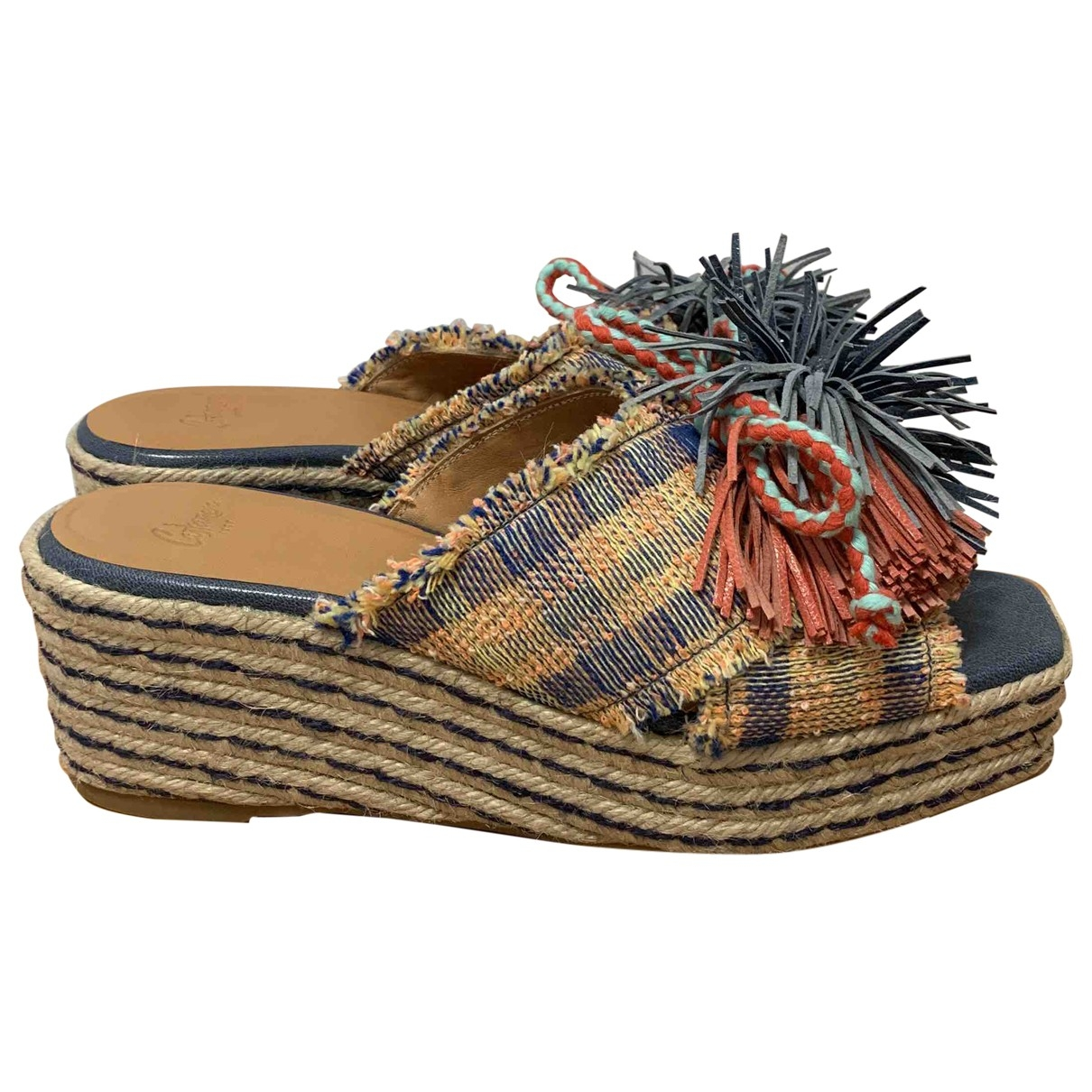 Castaner \N Multicolour Tweed Mules & Clogs for Women 39.5 EU