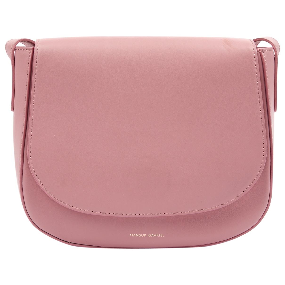 Mansur Gavriel \N Pink Leather handbag for Women \N