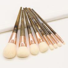 8 Stuecke Make-up Buerste Set