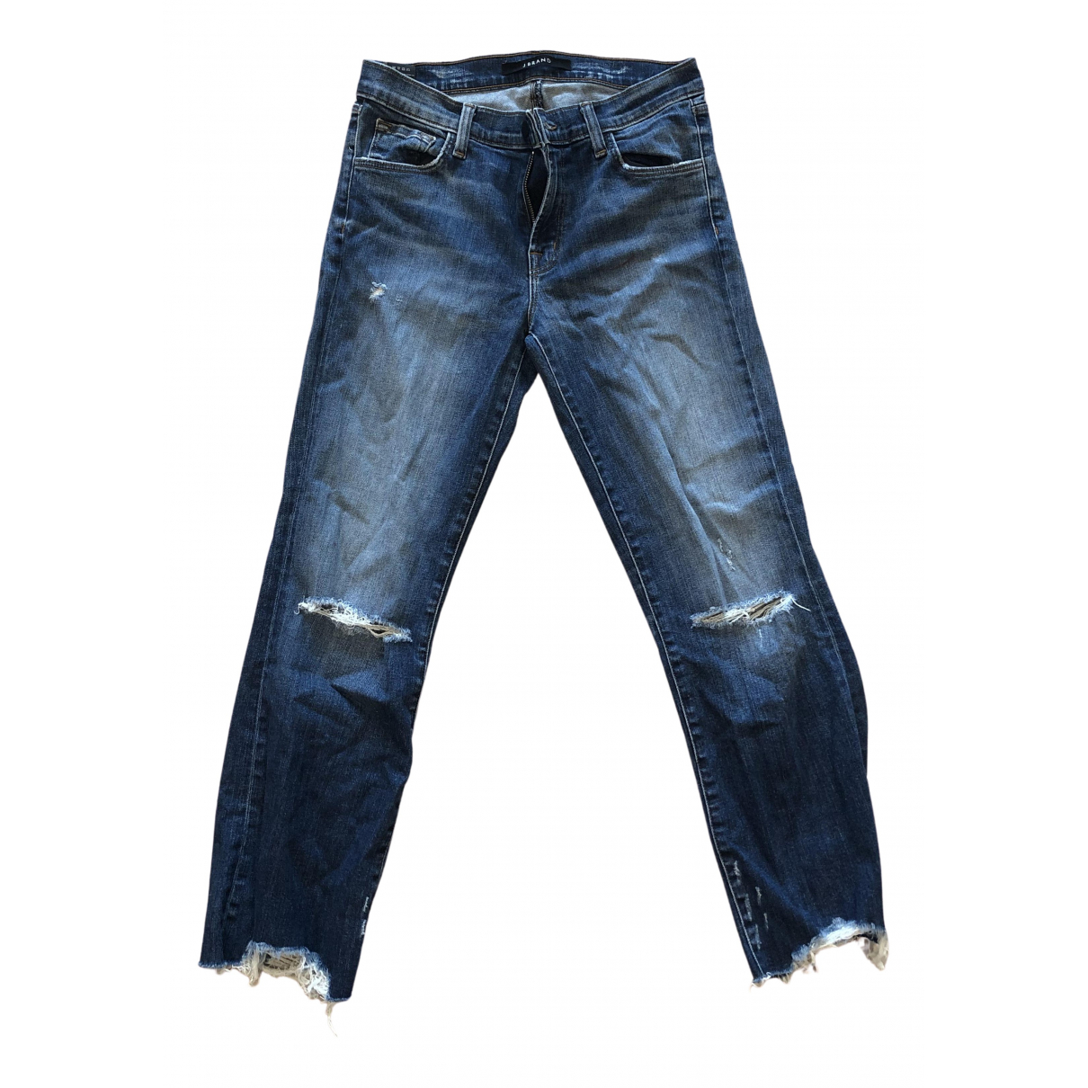 J Brand N Blue Denim - Jeans Jeans for Women 38 FR