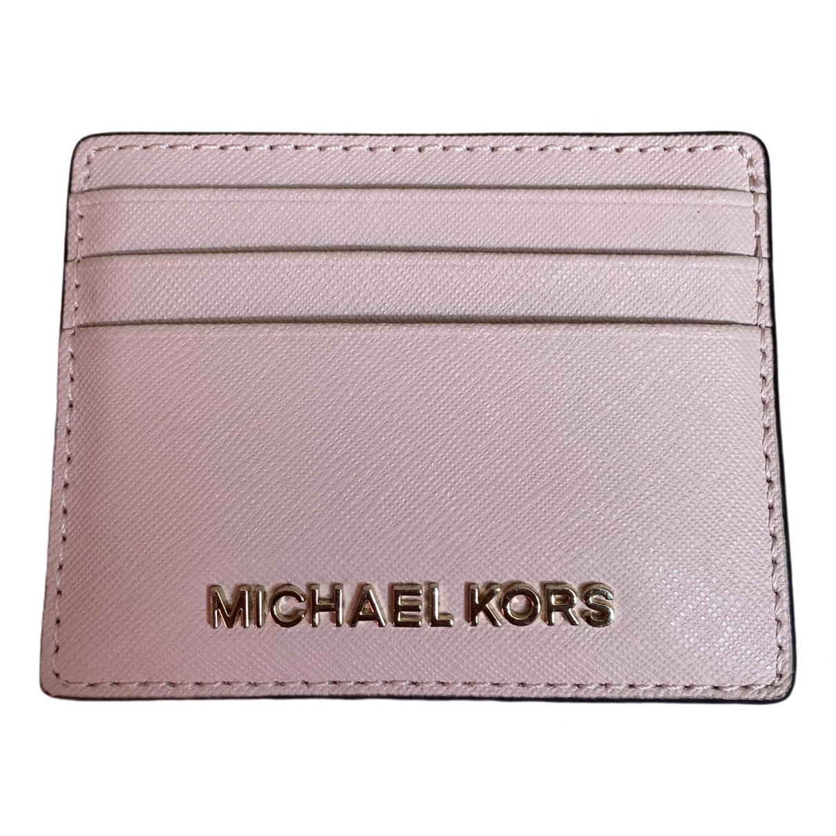 Michael Kors \N Pink Leather wallet for Women \N