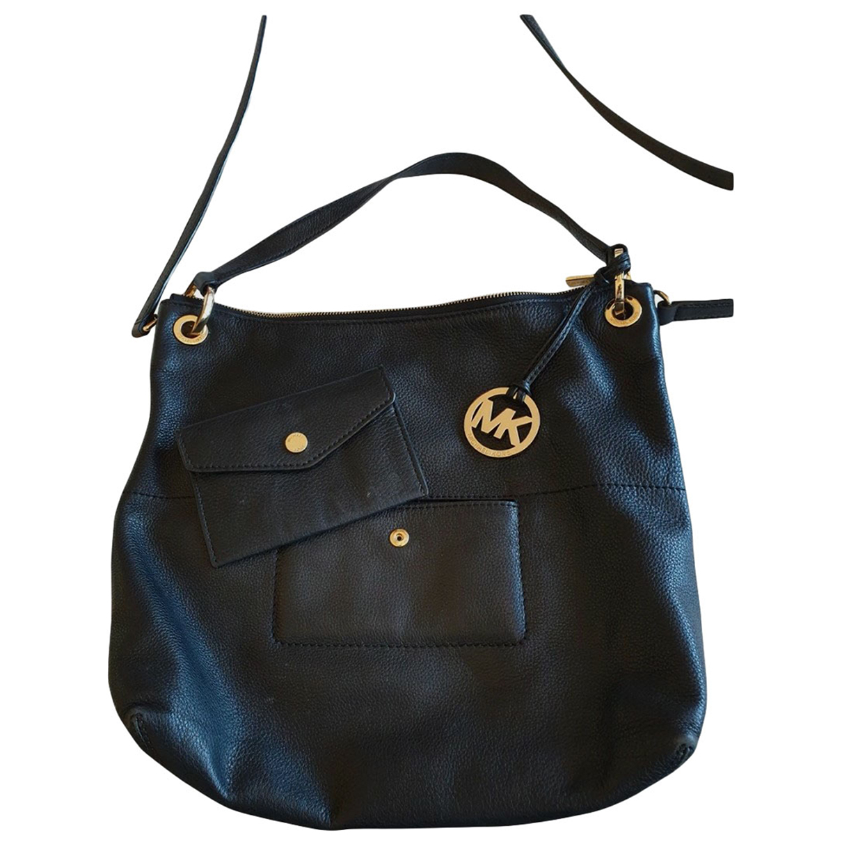Michael Kors N Black Leather handbag for Women N
