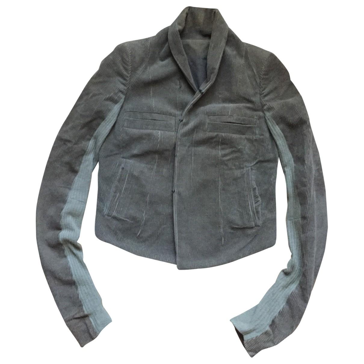 Rick Owens - Veste   pour femme en coton - marron