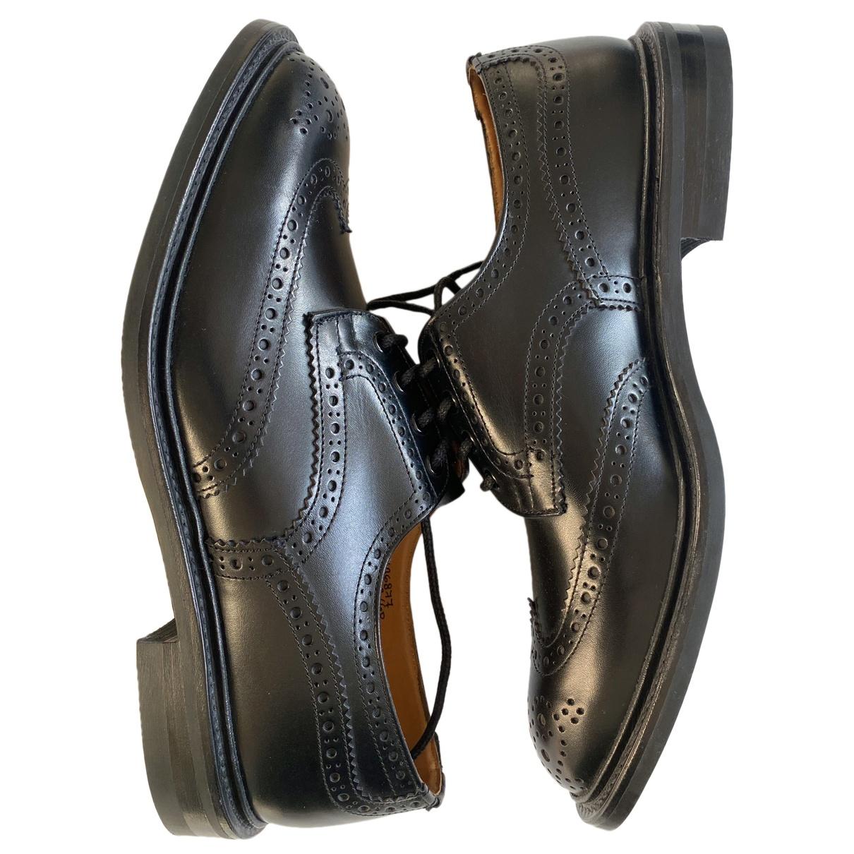 Trickers London - Derbies   pour homme en cuir - noir