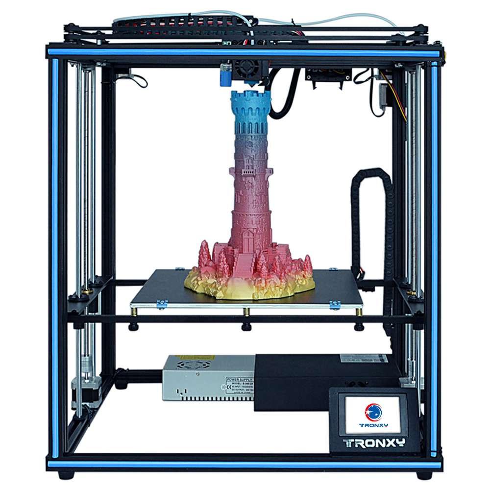 TRONXY X5SA 3D Printer Rapid Assembly DIY Kit Printing 330*330*400mm Auto-Leveling Filament Sensor 3.5 inch Touch Screen