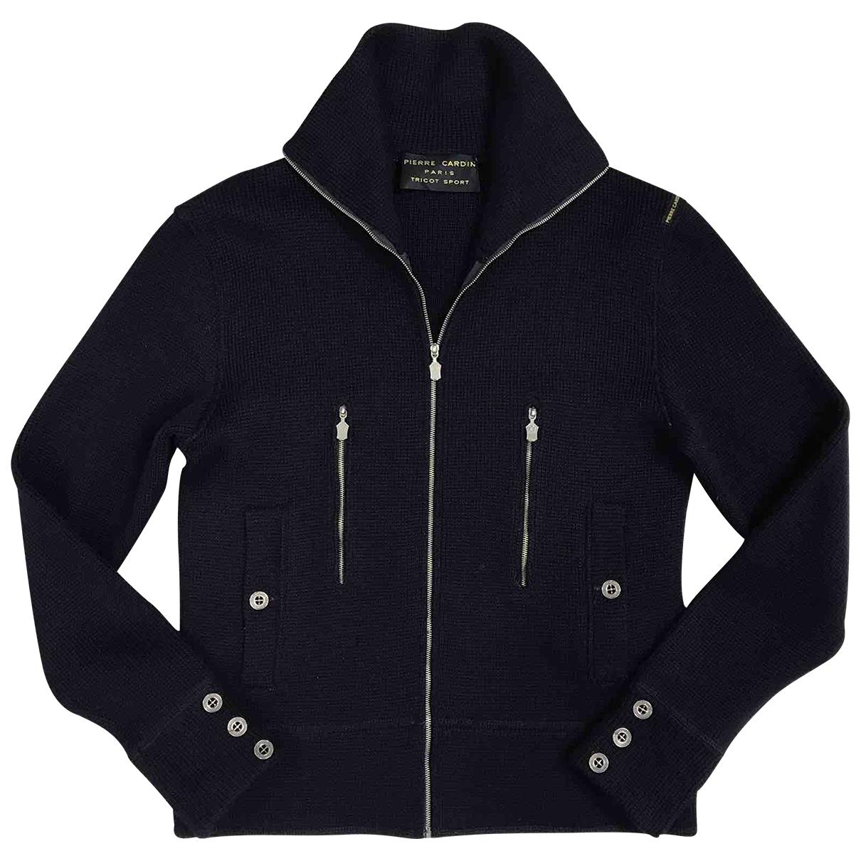 Pierre Cardin \N Blue Wool Knitwear & Sweatshirts for Men 50 IT