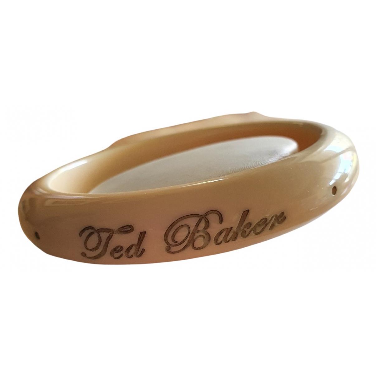 Ted Baker - Bracelet   pour femme - beige