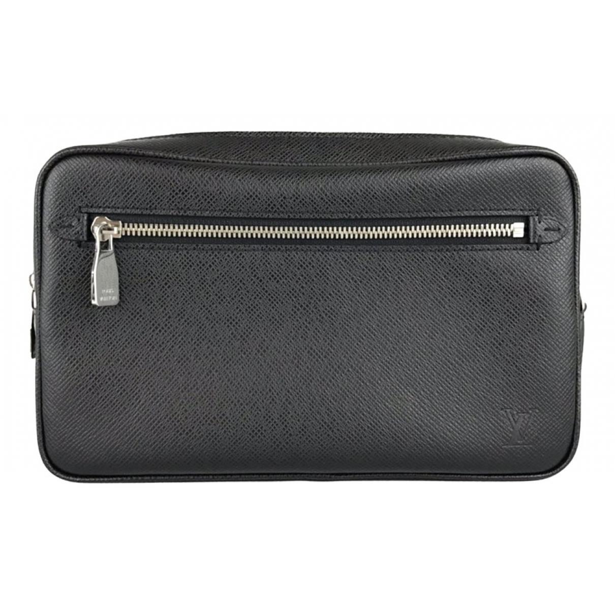 Louis Vuitton KasaÏ Black Leather Small bag, wallet & cases for Men N