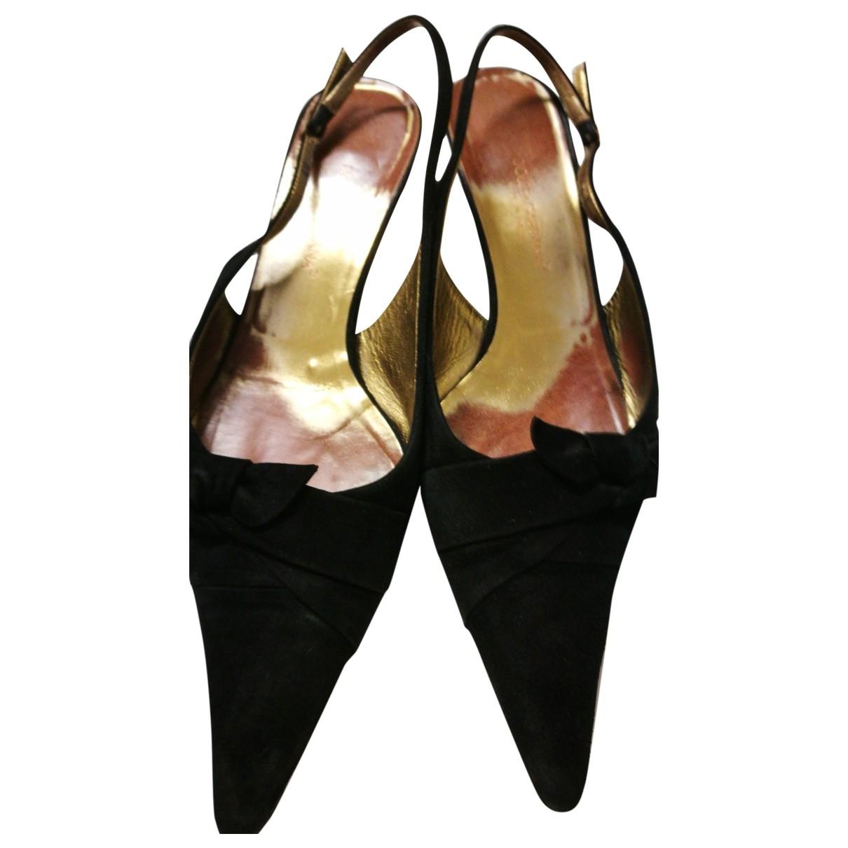 Dolce & Gabbana \N Black Suede Heels for Women 40 EU
