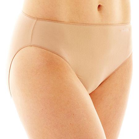 Jockey No Panty Line Promise Microfiber Bikini Panty 1370, 5 , Brown