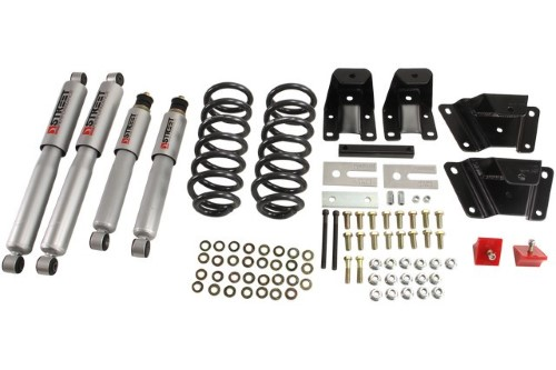 Belltech 904SP 2inch Front 4inch Rear Lowering Kit w/ SP Shocks Ford Ranger Ext Cab 1989-1997