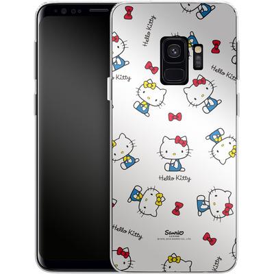 Samsung Galaxy S9 Silikon Handyhuelle - Hello Kitty and Mimmy Pattern von Hello Kitty
