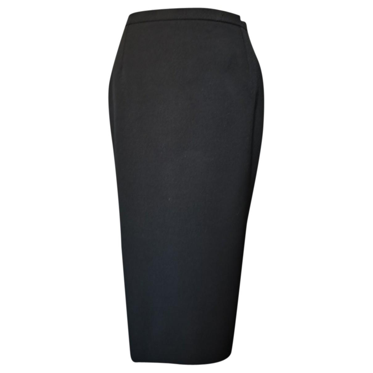 Max Mara - Jupe   pour femme en laine - noir