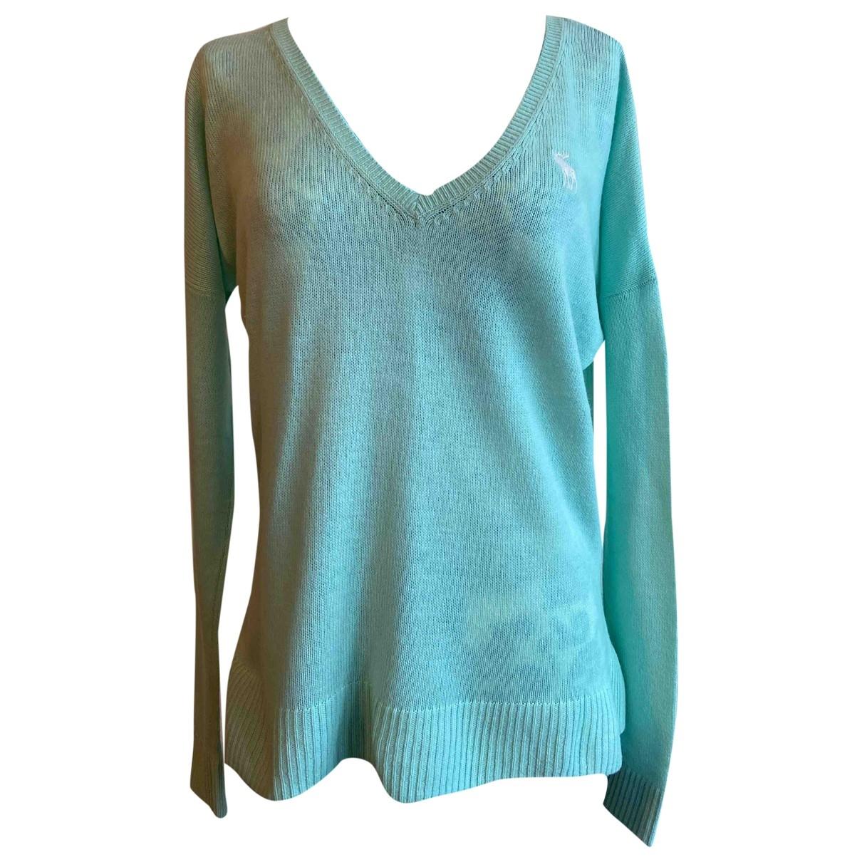 Abercrombie & Fitch \N Turquoise Wool Knitwear for Women XS International