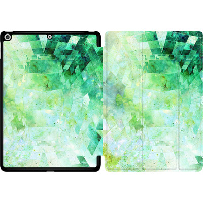 Apple iPad 9.7 (2018) Tablet Smart Case - Occult Galaxy Structure von Barruf