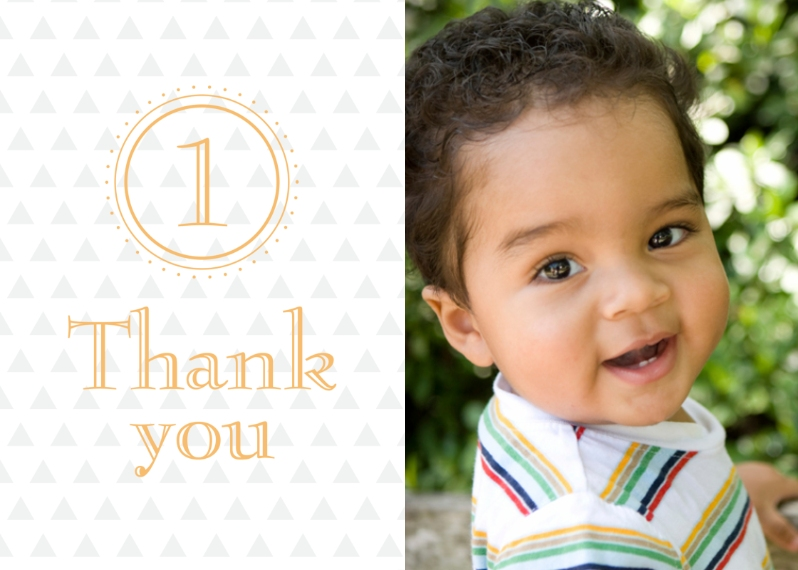 Kids Thank You Cards 5x7 Folded Cards, Standard Cardstock 85lb, Card & Stationery -Adding Up Birthday Thank You