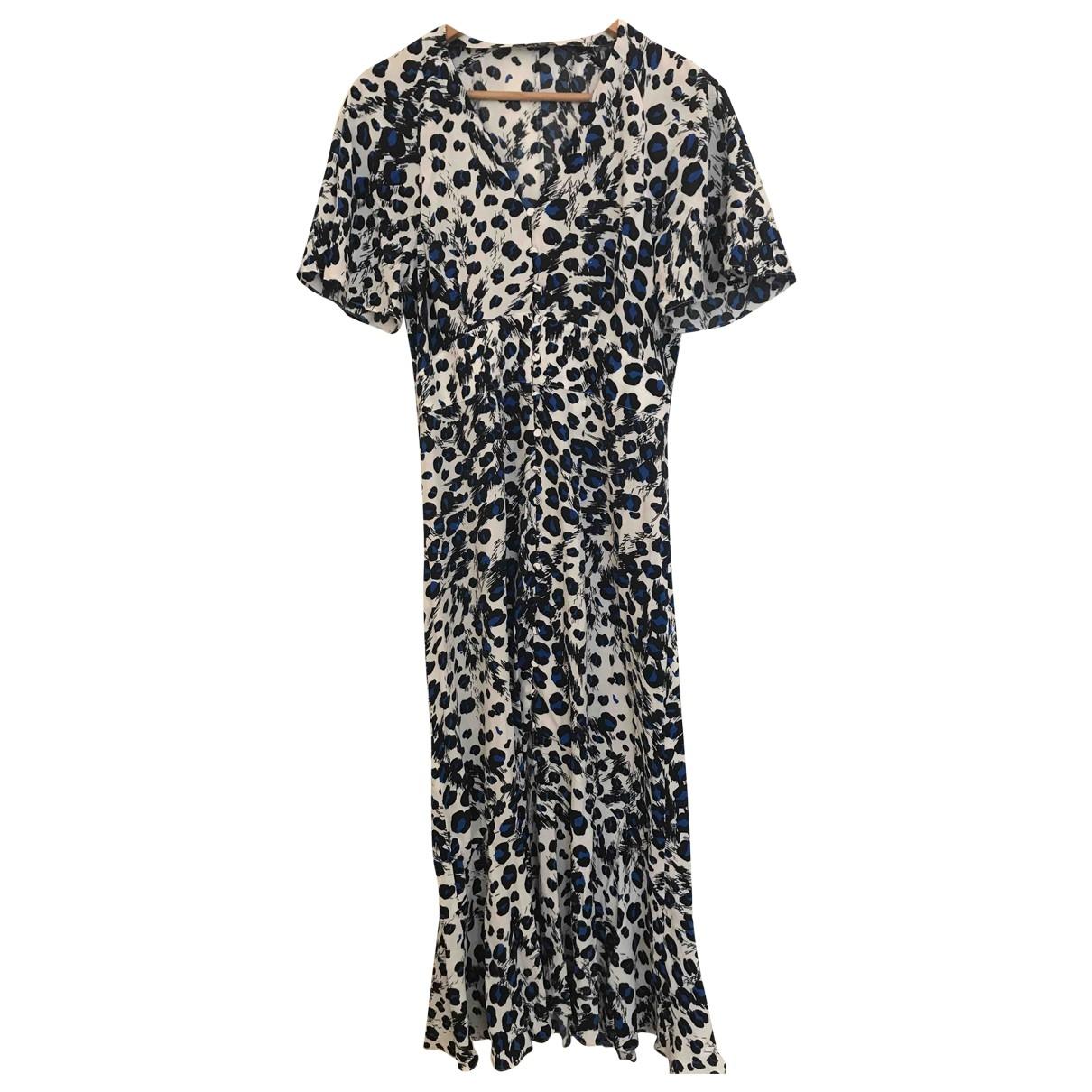 Whistles \N Kleid in  Blau Viskose