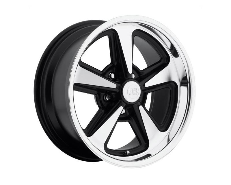 US Mags U109 Bandit Wheel 17x8 5X4.5 1mm Matte Black Machined