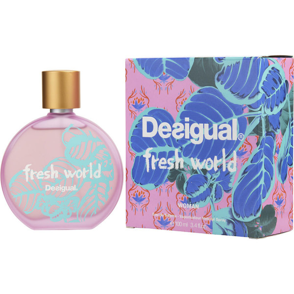Fresh World - Desigual Eau de Toilette Spray 100 ml