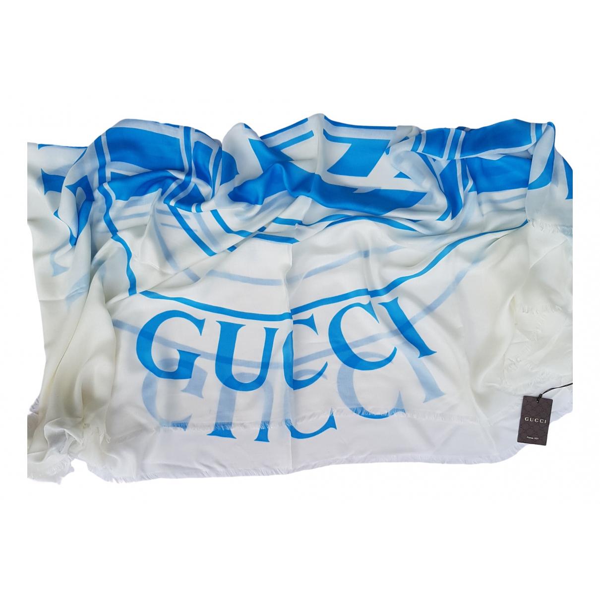 Gucci \N Schal in  Weiss Baumwolle