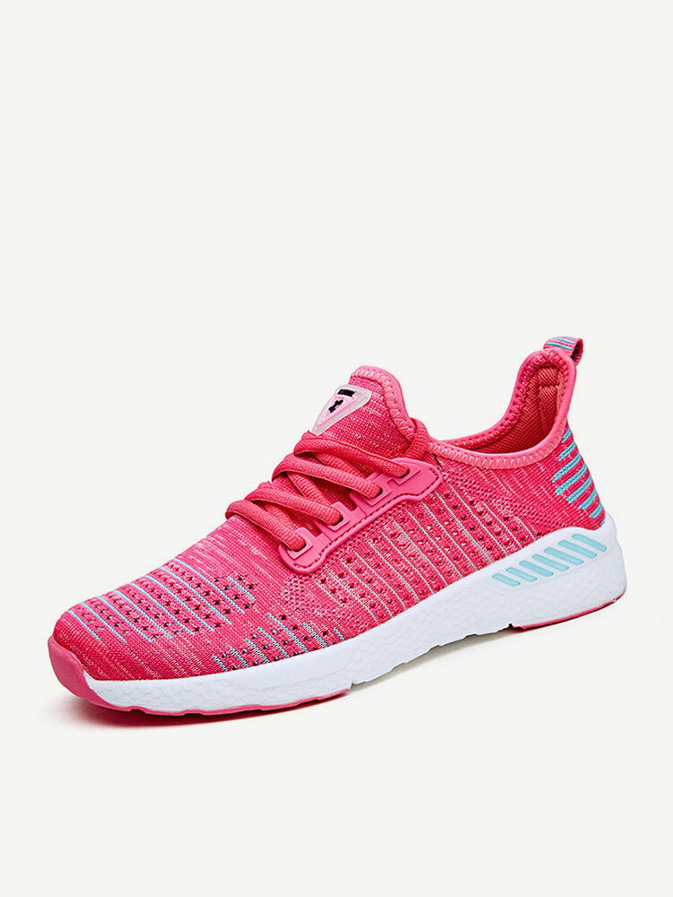 Women Mesh Breathable Comfy Flat Casual Sneakers
